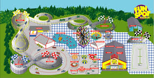 Orlando Parks Map by Fun Spot Action Park Florida Amusement Parks Com