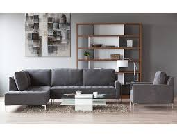 charcoal sectional sofa structube living room sectional sofas miami charcoal