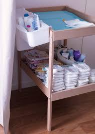Sniglar Change Table Sniglar Changing Table With Lättsam Plastic Storage Baskets Ready