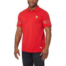 ferrari clothing men carries new men polos puma ferrari polo shirt clothing sku4243
