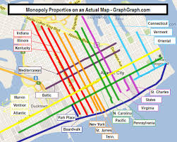 monopoly map monopoly properties on an actual map graph graph