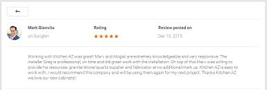 Rating Kitchen Cabinets Kitchen Az Cabinets Chandler Remodeling Contractor Customer Reviews