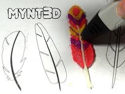 how to make turkey feathers 3d pen template turkey and feathers mynt3d