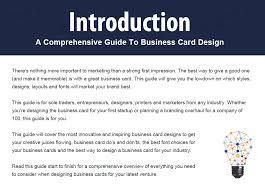 Best Way To Make Business Cards The Ultimate Guide To Business Cards Dark Horse Print U0026 Design