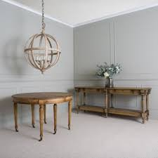 Oak Console Table With Drawers Console Tables One World