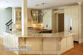 How To Antique Glaze Kitchen Cabinets Kitchens U0026 Cabinets Brushstrokes By Mary Anne Chalk Paint
