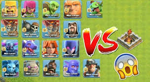 clash of clans all troops download save thumbnail coc all troops max vs 1 inferno tower clash