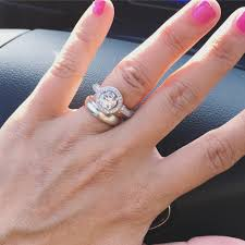gaudy engagement rings is my engagement ring gaudy big for my weddingbee