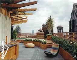 rooftop deck design decks com roof top deck construction