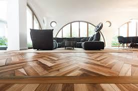 engineered parquet flooring glued walnut