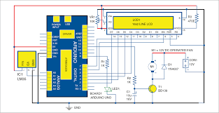 On Off Timer Circuit Diagram Temperature Based Fan Speed Control And Monitoring Using Arduino