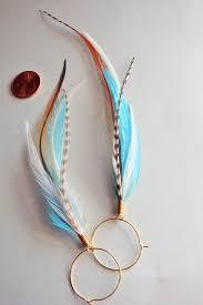 feather earring kingfisher blue feather earrings idealpin