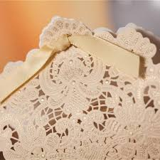lace favor bags luxury laser cut gold wedding favor box ewfb130 as low as 0 93