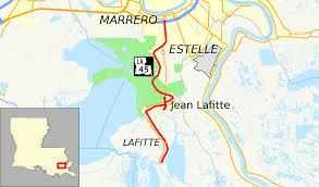 La Traffic Map Louisiana Highway 45 Wikipedia