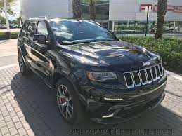 sport jeep grand cherokee 2016 used jeep grand cherokee 4wd 4dr srt at porsche west broward