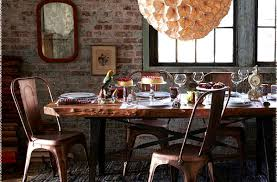 articles with copper dining room sets tag enchanting copper