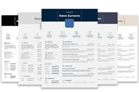 resume templates microsoft top 5 infographic resume templates