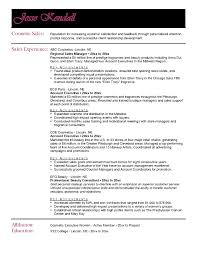 resumes 2016 sles resume sle cosmetic sales copy ideas 16 free sle sales agent