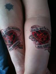 25 adorable matching tattoos for lovers creativefan