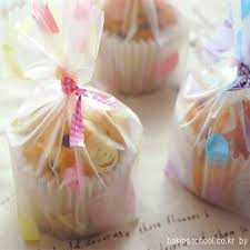 cookie party supplies wholesale plastic cupcake cookie bags for gift bakery packaging for