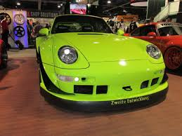 rauh welt porsche green these 8 porsche u0027s made sema 2015 a rough world rauh welt begriff