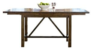 counter height gathering table intercon furniture santa clara counter height gathering table in