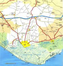 England On Map Algarve Maps To Help Car Hire Customers