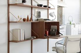 Desk Wall System Wall Units Awesome Shelving Unit With Desk Over The Desk Shelf