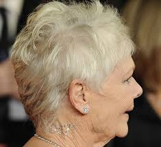 judi dench hairstyle front and back of head dame judi dench wears 007 dior skin bling beauty and the dirt