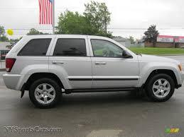 silver jeep grand cherokee 2008 jeep grand cherokee laredo 4x4 in bright silver metallic