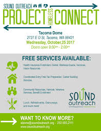 project homeless connect u2013 sound outreach