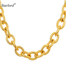 gold chunky necklace images Buy starlord kpop big chunky necklace mens gold jpg