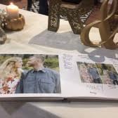 Wedding Sign In Book Handmade Guest Book Accessories Emmaline Bride
