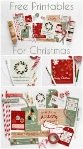 1147 best free christmas printables images on pinterest