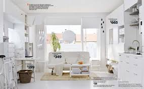 ikea white living room 2014