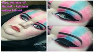 Eye Halloween Makeup by Elvira Mistress Of The Dark Halloween Makeup Tutorial Youtube