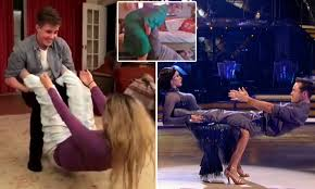 Hit The Floor Online Free - strictly fans try joe and katya u0027s gravity defying lift daily