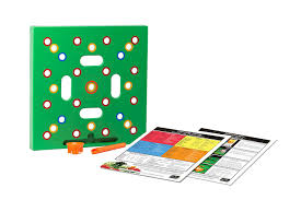amazon com seeding square a color coded seed spacer garden