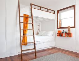 High End Bunk Beds High End Bunk Beds Industrial With Bunk Bunk Room Gray