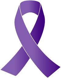 purple ribbons purple awareness ribbon clip at clker vector clip