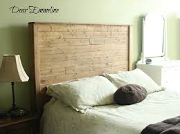 Headboard Made From Pallets Bedroom Engaging Diy Pallet Wood Farmhouse Style Headboard 101