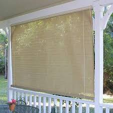 Roll Up Outdoor Blinds Coolaroo Roll Up Window Sun Shades Southern Sunset 4ftx6ft 315962