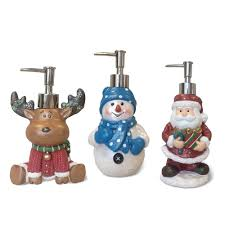 themed soap dispenser veratex themed christmas lotion dispenser 3 options