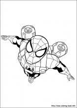 ultimate spider man coloring pages coloring book