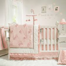 pink and white girls bedding home design 87 astonishing baby bedding sets for cribss