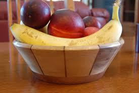 Fruit Bowl Segmented Woodturning How To Turn A Fruit Bowl Video Wood