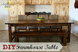 build a rustic dining room table 53 free diy farmhouse table plans for a rustic dinning room