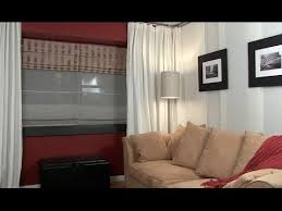 Hanging Curtain Room Divider by How To Install A Hanging Room Divider Ikea Kvartal Track System