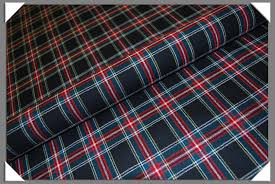 sutherland tartan plaid fabric 32 50 b black and sons
