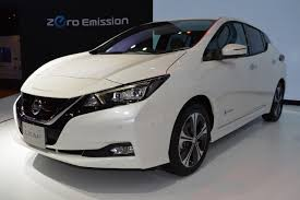 nissan leaf 2017 second gen 2018 nissan leaf showcased at 2017 thai motor expo